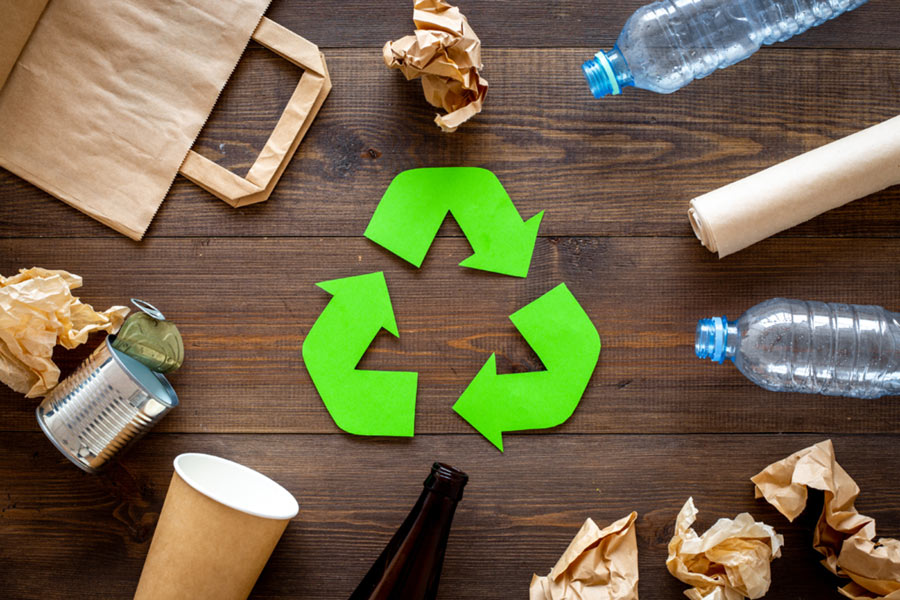 Recycling-Point Menziken